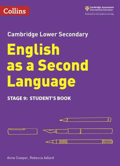 Cambridge checkpoint English as a second language  Stage 9 Student