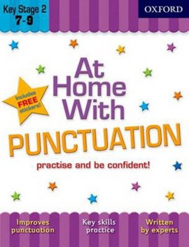 At home with punctuation by Sarah Lindsay