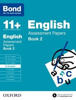 English. 9-10 years Assessment papers by Sarah Lindsay