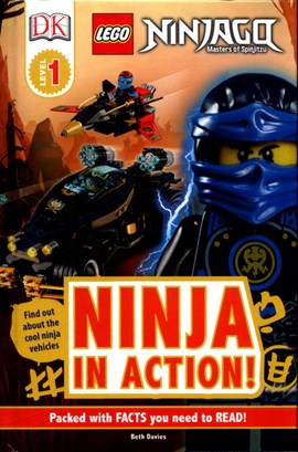 Ninja in action! by Beth Davies