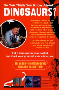 So you think you know about...stegosaurus? by Ben Garrod