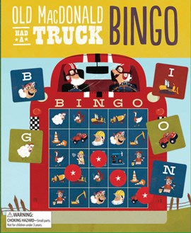 Old MacDonald Had a Truck Bingo by Steve Goetz