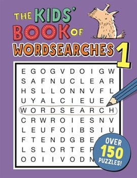 The Kids' Book of Wordsearches 1 by Gareth Moore