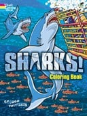 Sharks! Coloring Book