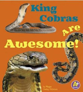 King cobras are awesome! by Megan C Peterson