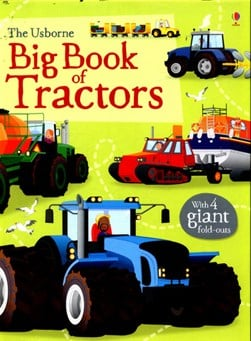 Big Book Of Tractors H/B by Lisa Jane Gillespie