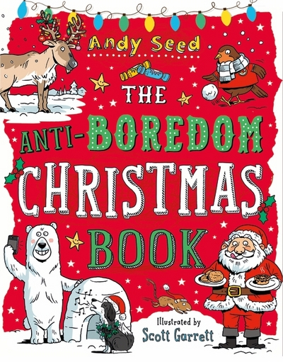 Anti Boredom Christmas Book P B Seed Andy