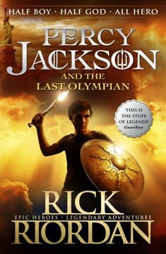 Percy Jackson & The Last Olympian (Bk 5) by Rick Riordan
