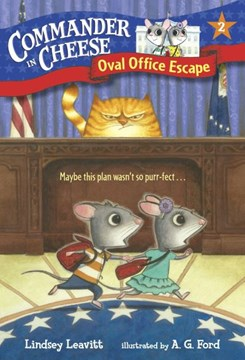 Oval Office escape by Lindsey Leavitt