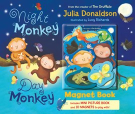 Night Monkey, Day Monkey Magnet Book by Julia Donaldson