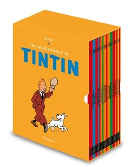 Tintin Paperback Boxed Set 23 titles by