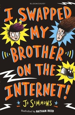 I Swapped My Brother On The Internet P/B by Jo Simmons