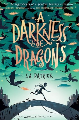 A Darkness Of Dragons P/B by S. A Patrick