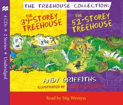 The 39-Storey & 52-Storey Treehouse CD Set by