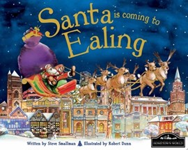 Santa is coming to Ealing by Steve Smallman