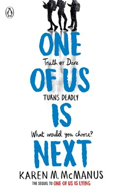 Book cover of One of us is Next book by Karen McManus