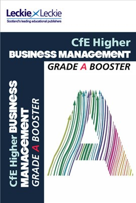 CfE Higher business management grade booster by Anne Ross