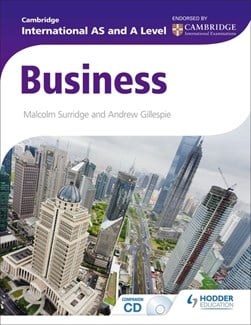 Cambridge International AS and A level business studies by Malcolm Surridge
