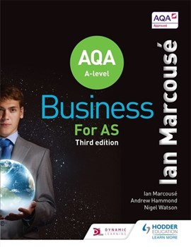 AQA business for AS by Ian Marcousé