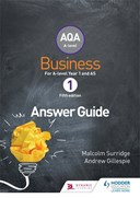 AQA business for A level 1. Answers