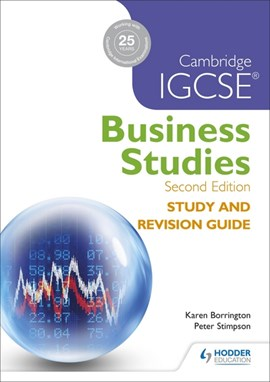 Cambridge IGCSE business studies study and revision guide by Karen Borrington