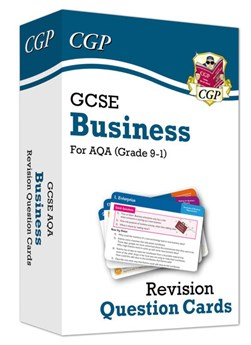 New Grade 9-1 GCSE Business AQA Revision Question Cards by CGP Books