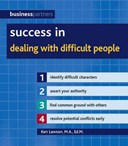 Success in dealing with difficult people