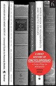 A brief history of encyclopedias