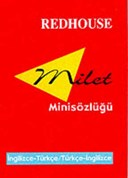 Redhouse Mini Dictionary - Redhouse (turkish-english, English-turkish)