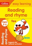Reading and rhyme. Ages 3-5