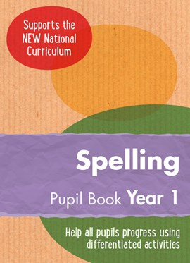 English KS1. Year 1 Spelling by Keen Kite Books