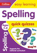 Spelling quick quizzes. Ages 7-9