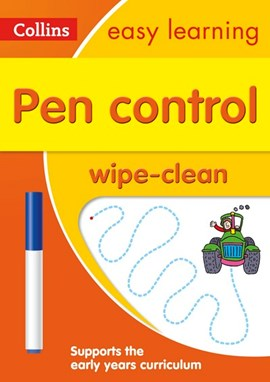 Pen Control Age 3-5 Wipe Clean Activity Book by Collins Easy Learning