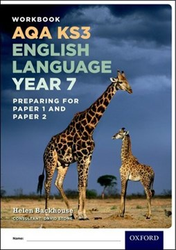 Workbook AQA KS3 English language year 7 by Helen Backhouse