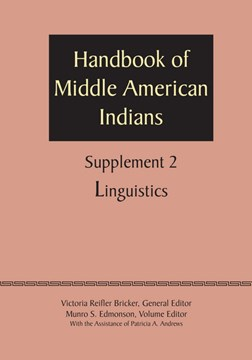 Supplement to the Handbook of Middle American Indians, Volume 2 by Victoria Reifler Bricker