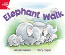 Rigby Star Guided Reception: Red Level: Elephant Walk Pupil Book (single)