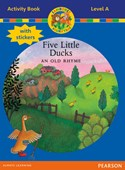 Jamboree Storytime Level A: Five Little Ducks Activity Book with Stickers