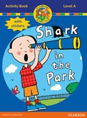Jamboree Storytime Level A: Shark in the Park Activity Book with Stickers