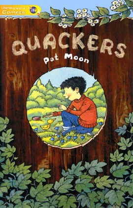 Literacy World Comets St1 Novel Quackers by Pat Moon