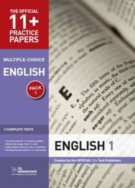 11+ Practice Papers Multiple Pk 1 English by