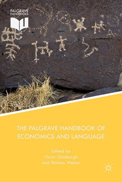 The Palgrave handbook of economics and language by V. Ginsburgh