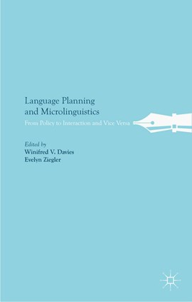 Language planning and microlinguistics by W. Davies