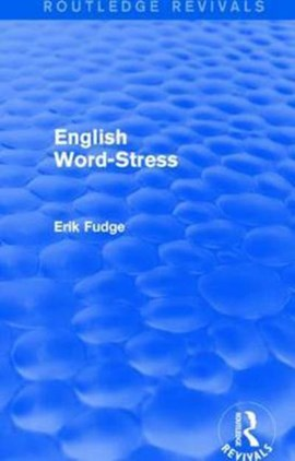 English word-stress by Erik Fudge