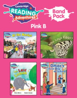 Cambridge Reading Adventures Pink B Band Pack of 9 by Lynne Rickards