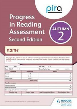 PiRA Test 2, Autumn Pack 10 - 2ED (Progress in Reading Assessment) by Colin McCarty