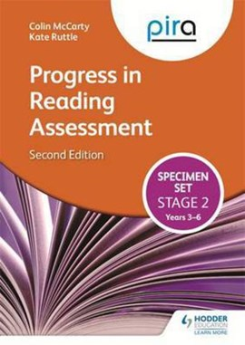 PiRA Stage Two (Tests 3-6) Specimen Set - 2ED (Progress in Reading Assessment) by Colin McCarty