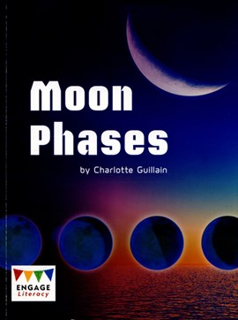 Moon phases by Charlotte Guillain