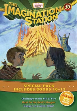 Imagination Station Books 3-Pack: Challenge on the Hill of Fire / Hunt for the Devil's Dragon / Dan by Marianne Hering