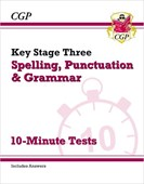 New KS3 Spelling, Punctuation and Grammar 10-Minute Tests (includes answers)