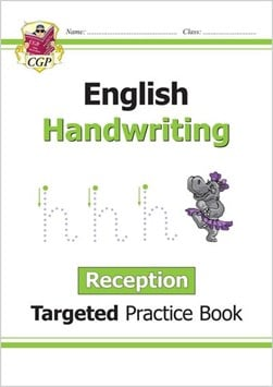English Targeted Practice Book: Handwriting - Reception by CGP Books
